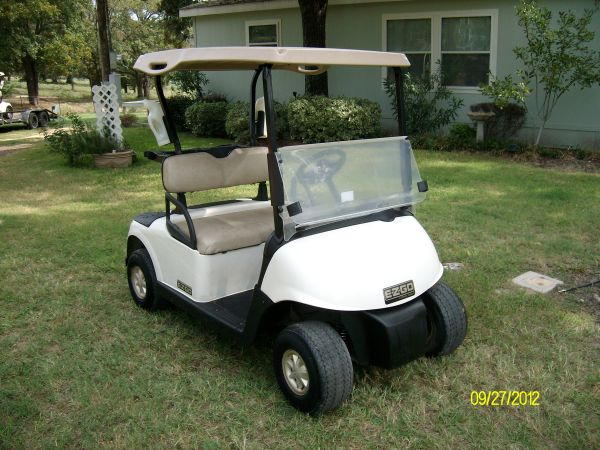 GOLF CART 2009 EZ GO RXV - $2475 (Athens,Tx)