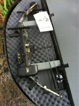 Very nice browning compound bow (Tyler)
