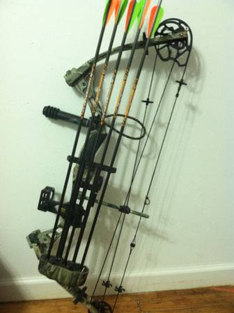 Diamond by Bowtech The Rock hunting bow - $200 (Big Sandy, Tx)