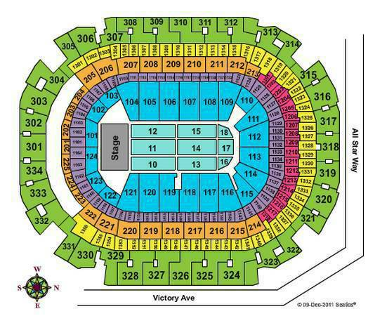 One Direction Dallas Concert FLOOR TICKETS (2) - $2000 (Section 13, Row R, Seats 13 14)