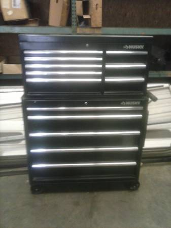 husky toolbox and tools - $1300 (longview,Tx)