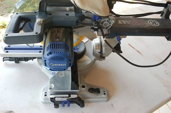 Kobalt 10-in slide miter saw - $80 (PalestineElkHart)