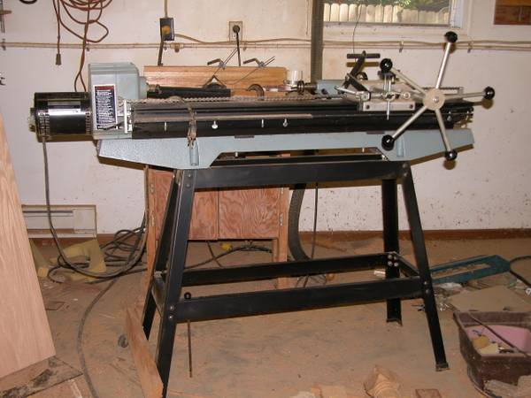 Delta wood lathe wVega Duplicator - $650 (White Oak)
