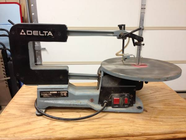 Delta 2 Speed 16 Scroll Saw wQuickset Blade Changing Feature (Whitehouse, TX)