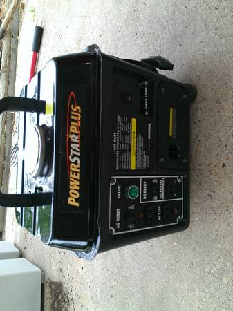 power star plus 300 watt generator - $100 (Tyler)