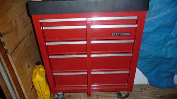 Craftsman 5-Drawer Tool Chest wBuilt-In Tray on Top - $130 (West Tyler)