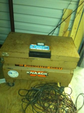 Knaack tool box - $350 (longview)