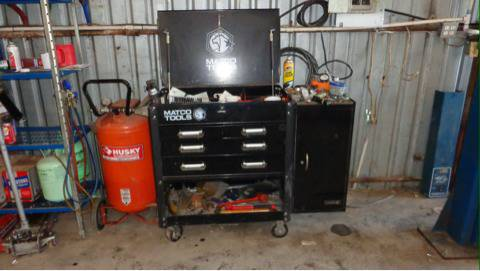 MATCO 4 drawer Tool Cart with side cabinet - $500 (30 miles east of dallas)
