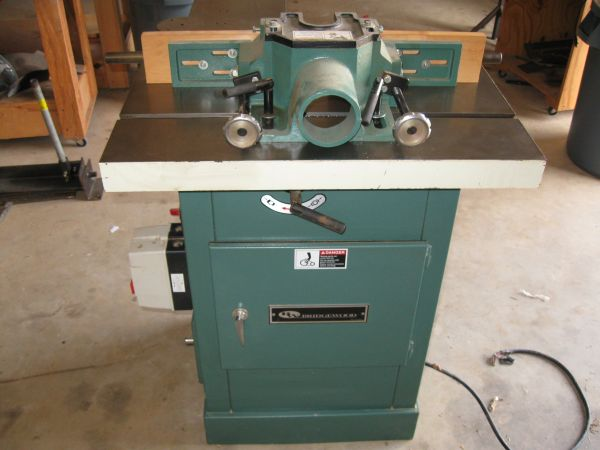 3 hp spindle shaper with sliding table - $1500 (van)