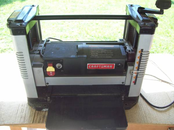 A planer less than a year old - $259 (East Texas)