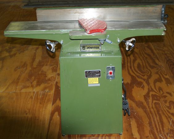 6 CENTRAL MACHINERY JOINTER PLANER - $350 (Tyler)