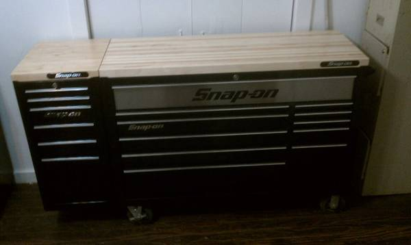 kra snap-on tool box - $3500 (palestine)