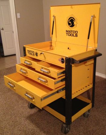 MATCO TOOLS (Tool Box) - Large Heavy-Duty Service Cart - $400 (Longview, TX)