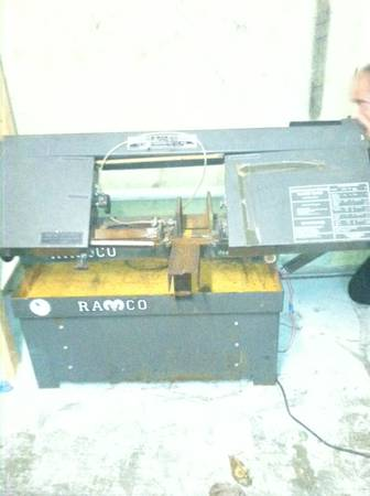 Ramco industrial metal band saw - $350 (Gilmer, Tx.)