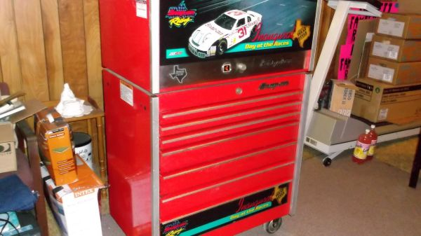 Snap On Nascar Limited Edition Toolbox with Tools - $5000 (Buna, Texas)