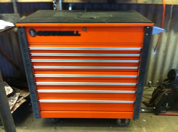 Snap on 3 drawer tool cart | eSpotted