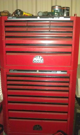 MAC Tool Box (large) - $1500 (Tyler)