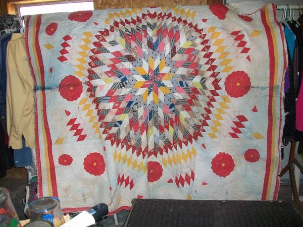 VINTAGE QUILTS FOR CUTTER QUILTS FOR SALE  BROWNSBORO