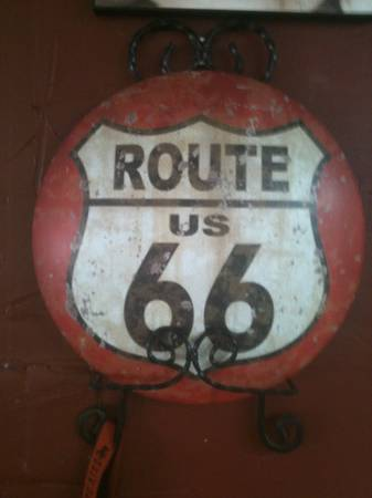 ROUTE 66 SIGN   -   x0024 12  tyler tx