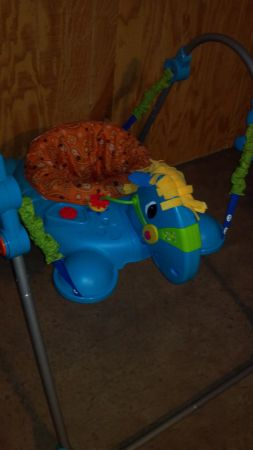 Fisher Price Galloping Jumperoo - $35 (Jefferson Marshall Longview)