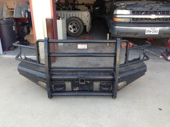 Ranchhand bumpers for 03-05 dodge ram - $650 (Tyler, tx )