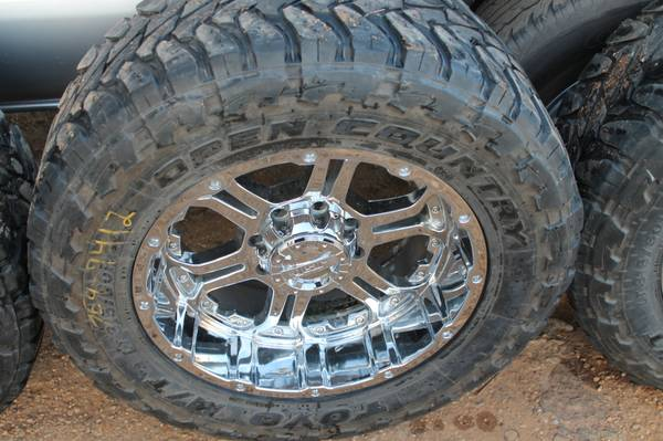 2set of tires 1set for ford F250 315 60R20 Toyo  with Chrome Wheels -   x0024 900  Hawkins