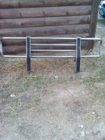 Chrome grill guard for ChevyGMC - $50 (Mount Pleasant)