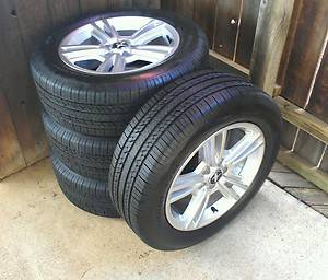 Ford Mustang 17 2005 - 2013 Factory OEM Rims and Tires Set 4 Silver - $500