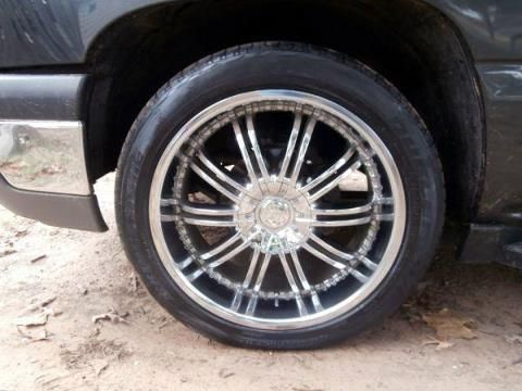22 inch 6 lug rims and tires reduced - $450 (pittsburg tx )
