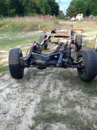 Lifted k5 blazer rolling chassis  - $800 (Longview )