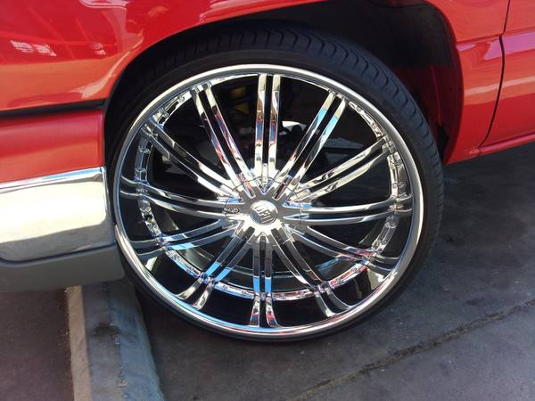 28 inch rims new tires (Tyler)