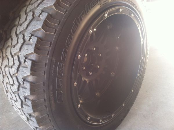 20x12 fuel hostage wheels - $1000 (Gilmer)
