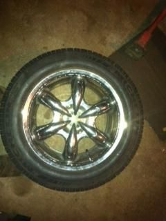 17 inch wheels for a chevy 6 lugs - $250 (paletine tx)