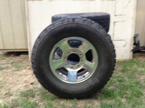 Ford F250 tires and rims - $700 (Tyler,Texas)