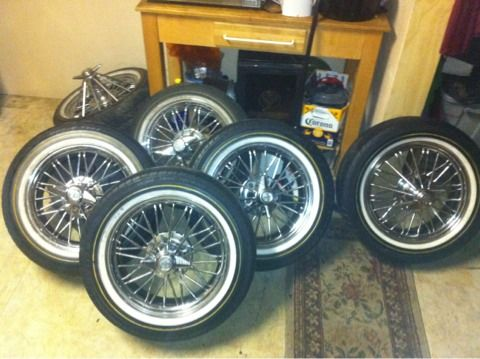 17quot Super poke swangas on vogue tyres - $1400 (East Dallas)