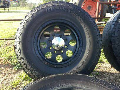 16 Eagle Alloy 8 lug wheels - $3 (Emory)
