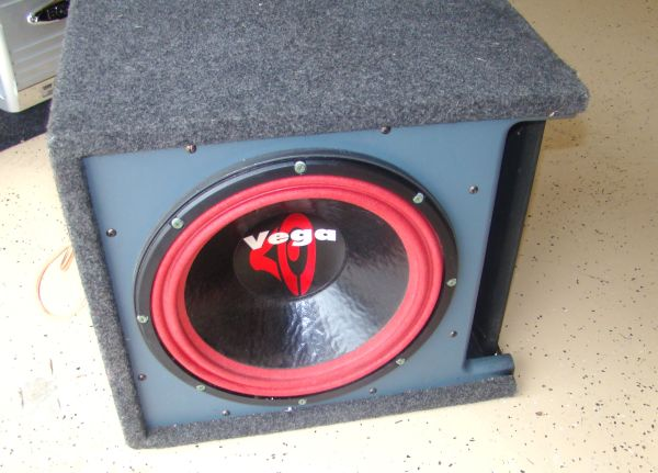 15 Vega Subwoofer Sub with digital capacitor in box - $100 (Tyler, Tx)