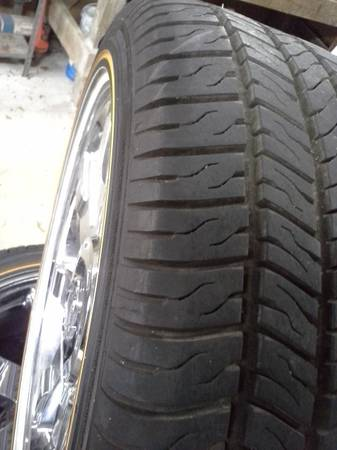 22 Cadillac wheels with Vogue tires - $2600 (Dallas)