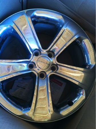 2012 DODGE CHARGER RIMS (STOCK) - $350