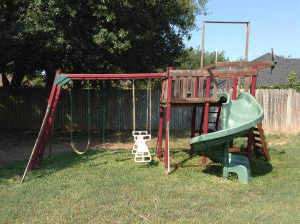 Wooden playset - $300 (Kilgore, tax)