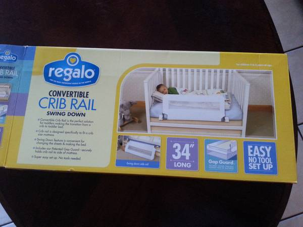 crib rail and toy for beginner walkers -   x0024 15  longview