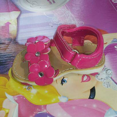 Baby girl sandals size 2  3,  - $3