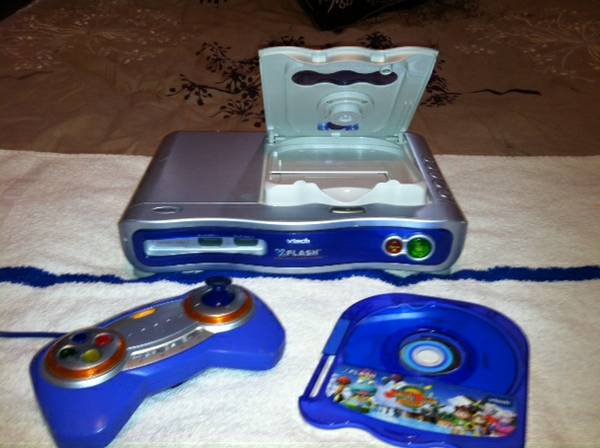 VTech Flash V.Flash w 1 Controller and Game - $35 (Ore City)