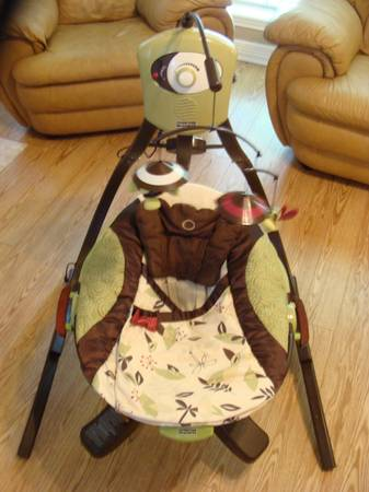 Fisher price zen cradle swing - $95 (whitehouse)
