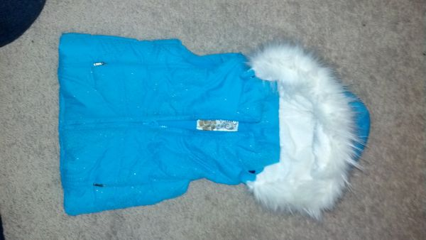 brand new Childrens Place zip-up jacket wfur-lined hood - $15 (Whitehouse)