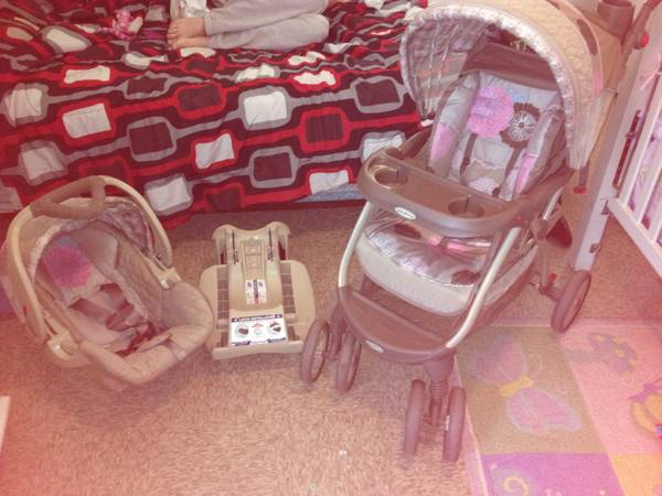 Infant carseat stroller combo