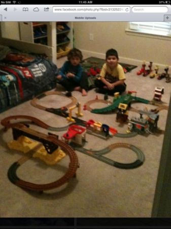 Huge geo trax train lot - great Christmas gift - $100 (Tyler, tx )