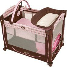 3 in 1 pink and brown Graco pack n play BRAND NEW - $80 (tyler)