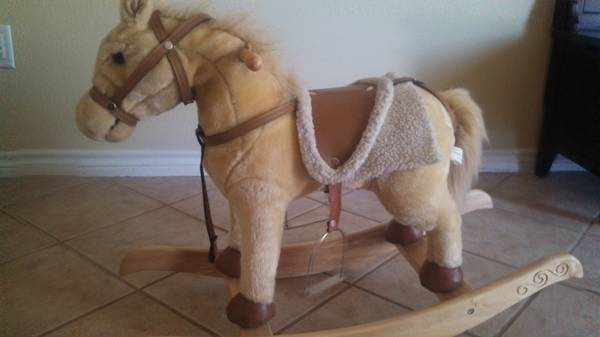 29 Animated Rocking Horse - $15 (Gilmer, TX)