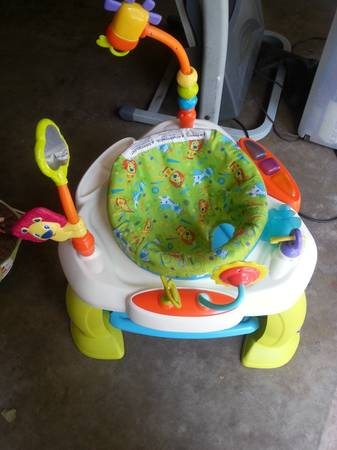 Baby Bouncer and jumpy - $10 (Tyler )